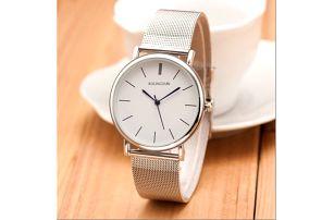 Dámské hodinky s jednoduchým ciferníkem - 2 barvy