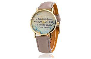 Dámské hodinky pro dobrodružné duše - 5 barev