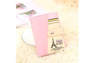Malá dámská peněženka s motivem Paříže