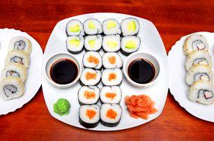 Kacumo set 32 kousků čerstvého sushi s sebou
