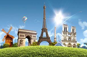 3denní zájezd do romantické Paříže včetně Eiffelovy věže pro 1 osobu