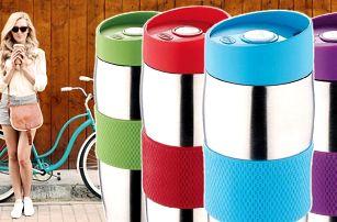 Oblíbený nerezový termohrnek s protiskluzovým páskem