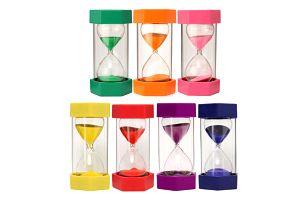 Plastové přesýpací hodiny - 15 minut
