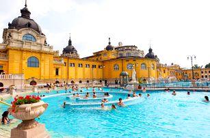 Celodenní Budapešť a relaxace v termálech