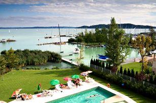 Hotel Silverin Lake Resort **** na břehu Balatonu s wellness a polopenzí