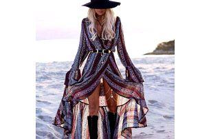Dlouhé letní šaty ve vintage stylu - 7 variant