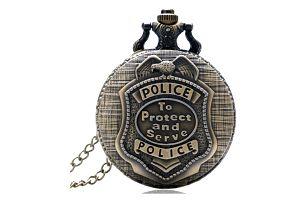 Vintage kapesní hodinky pro policisty - dodání do 2 dnů