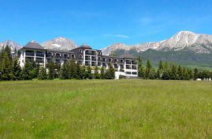 Hotel Hubert**** ve Vysokých Tatrách pod Gerlachovským štítem s polopenzí, wellness a dítětem do 12 let zdarma.
