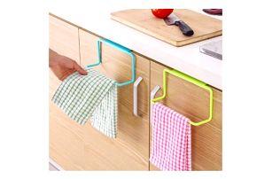 Praktický věšák na ručníky a utěrky