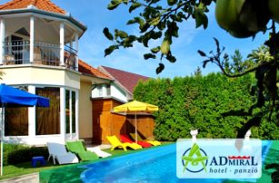 Maďarsko u Balatonu s wellness a bazénem neomezeně, polopenzí a půjčením kol