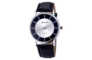Dámské hodinky s jednoduše řešeným ciferníkem - 2 barvy - dodání do 2 dnů