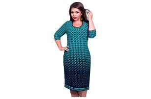 Společenské šaty v nadměrných velikostech - 6 variant