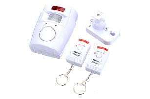 Senzor pohybu s dálkovými ovladači - alarm