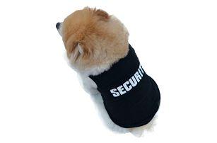 Security uniforma pro pejsky