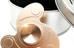 Antistresový spinner z hliníkové slitiny - 5 barev