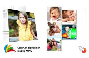 5 ks magnetek s vašimi vlastními fotografiemi ve více rozměrech