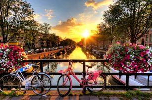 5denní poznávací zájezd pro 1 osobu do voňavého Holandska s návštěvou Amsterdamu