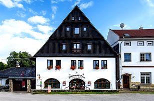 3–6denní pobyt s polopenzí pro dva v penzionu Měšťanský Dům v Krkonoších