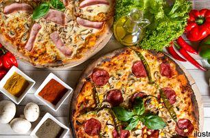 2x pizza (⌀ 32 cm) v restauraci U Fidela