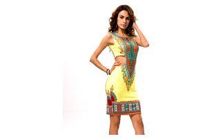 Stylové letní šaty s barevnými motivy - 11 variant