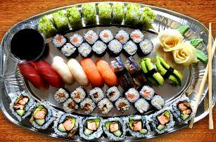 Sushi party u vás doma: set s 50 kusy a dovoz