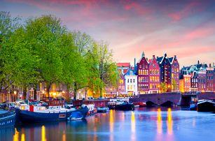 3denní jarní zájezd do Amsterdamu pro 1 osobu