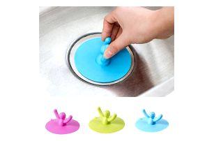 Originální špunt do umyvadla nebo vany - 3 barvy