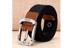Pánský pásek se sponou - více velikostí