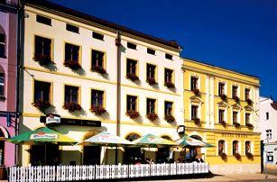Pobyt pro dva v Hotelu Praha Broumov s polopenzí, vhodné pro turisty a rodiny s dětmi.