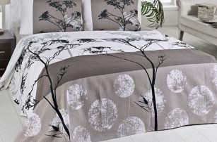 Lehký přehoz přes postel Belezza Grey, 200x230cm - doprava zdarma!