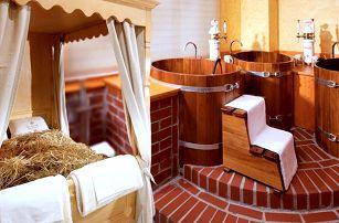 Relax pro dva: vířivka, sauna a pivní koupel