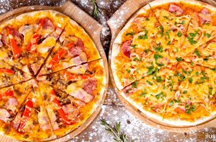 2x libovolná pizza v restauraci Pod Kaštany