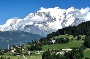 Švýcarské a Francouzské Alpy: srpnový termín s noclehem na dvě noci a snídaní