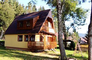 3–4denní pobyt v apartmánu pro 4–5 osob v Chatě Sandra u Lipna