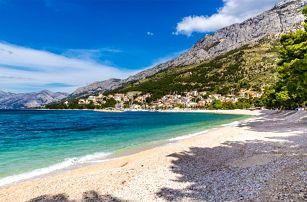 10denní pobyt pro 1 osobu včetně dopravy v letovisku Baška Voda v Chorvatsku