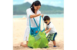Praktická skládací taška na plážové vybavení i dětské hračky