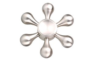 Fidget spinner z nerezové oceli