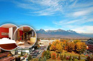 Hotel Spolcentrum*** v Tatrách se snídaní, luxusním wellness, bowlingem, tenisem i fitness centrem.