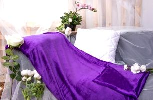 XPOSE ® Deka mikrovlákno - tmavě fialová 150x200 cm