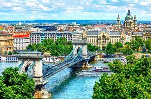 Dovolená plná zábavy a relaxu z pohodlí hotelu Mediterran Hotel Budapest **** se saunou a s jacuzzi