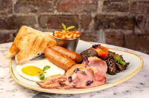 Snídaně v irské restauraci v Liberci