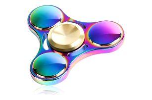 Barevný fidget spinner - 3 ložiska