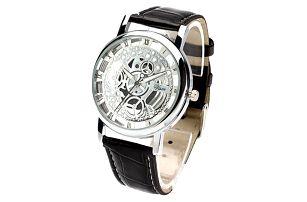 Unisex hodinky - náramek ve čtyřech barvách