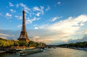 Kouzelná Paříž ve 4 dnech včetně 1 noci se snídaní