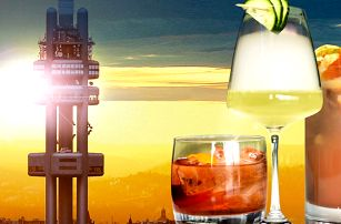 Koktejl na Žižkovské věži a vstup do observatoře