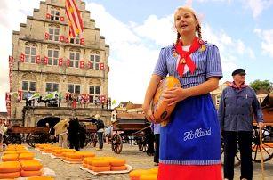 4denní poznávací zájezd pro 1 osobu do Holandska s návštěvou Amsterdamu i Alkmaaru