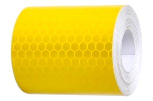 Reflexní samolepicí páska - žlutá - dodání do 2 dnů