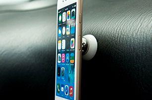 Magnetický držák telefonu - otočný o 360° - dodání do 2 dnů