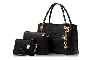 Exkluzivní set kabelky a dvou taštiček