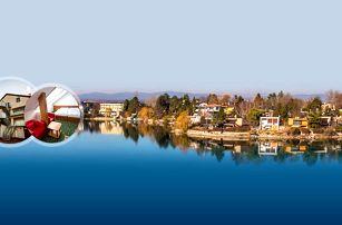 Léto na Slunečních jezerech s polopenzí, bazénem, saunou a sportovními aktivitami